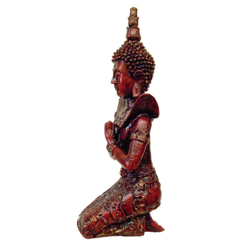 Buda Hindu Prece de Joelho estátua Decoração