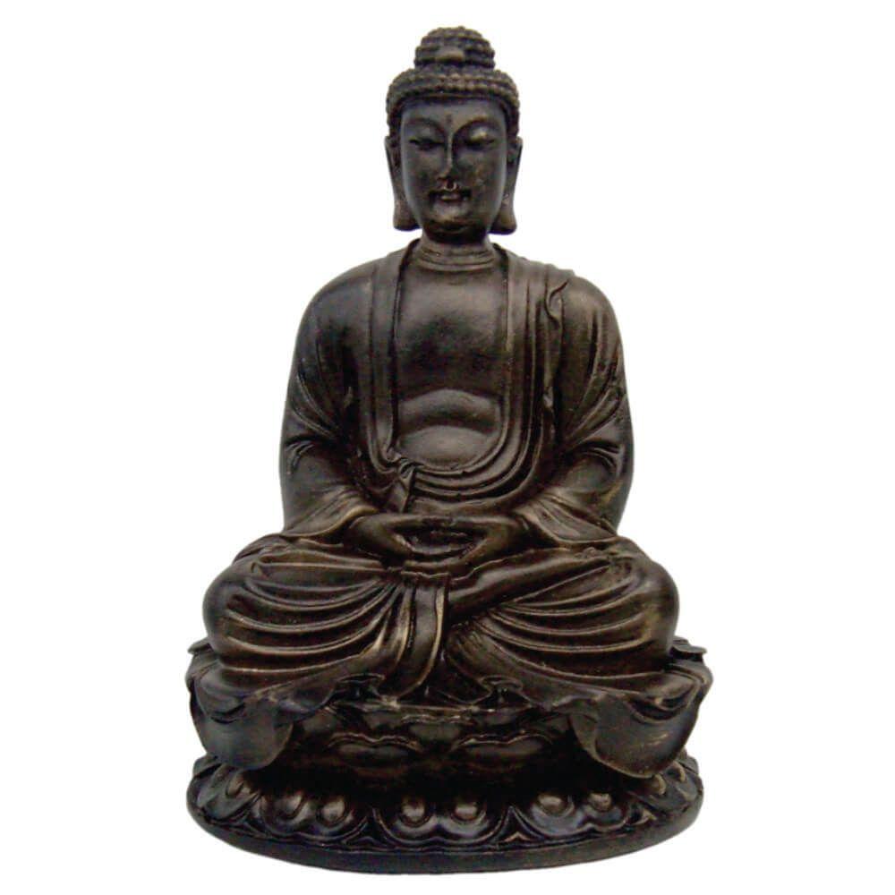 Buda Hindu com base Meditação Meditando Estátua Decoração.