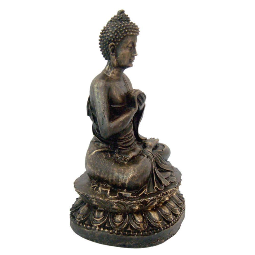 Buda Hindu Pequeno orando prece estátua decoração.