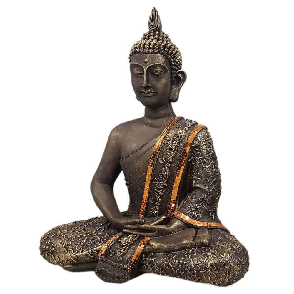 Buda Hindu Gigante Meditação Diversas Cores.