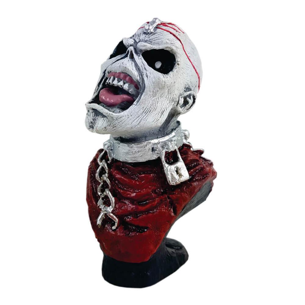 Busto Iron Maiden Red estátua decoração.