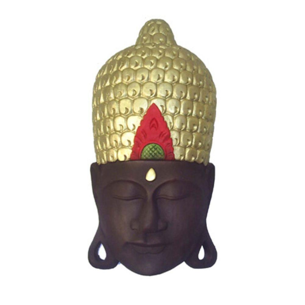 Cabeça homem Hindu de parede decoração.