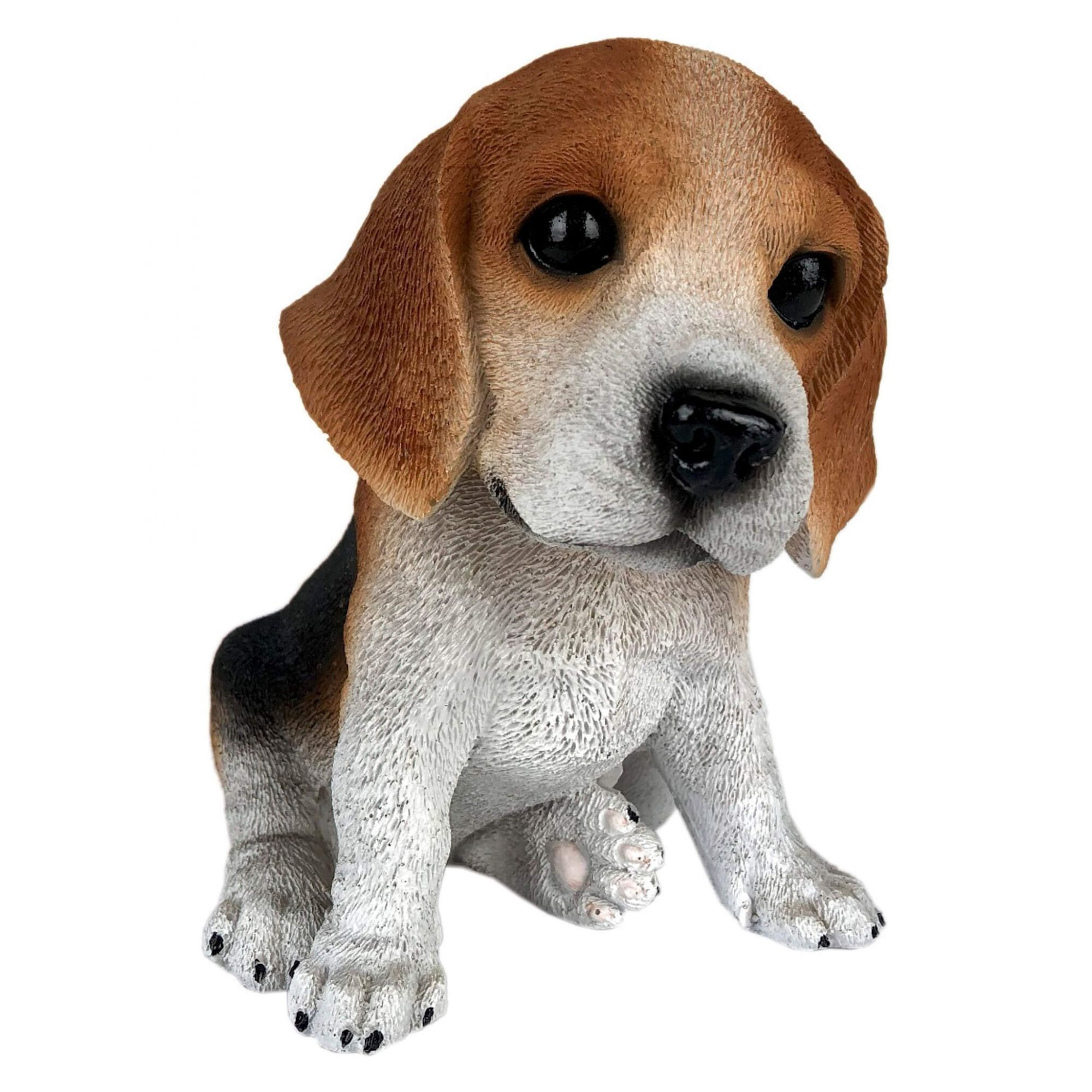 Cachorro Beagle Filhote Estátua Decoração