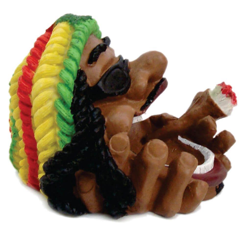 Cinzeiro Bob Marley Boca aberta colorido
