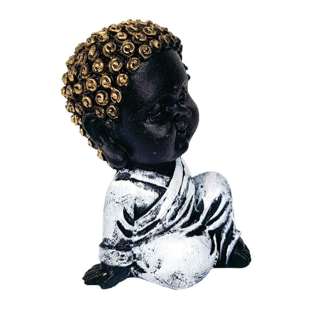 Buda Criança menino Paz estátua decoração.
