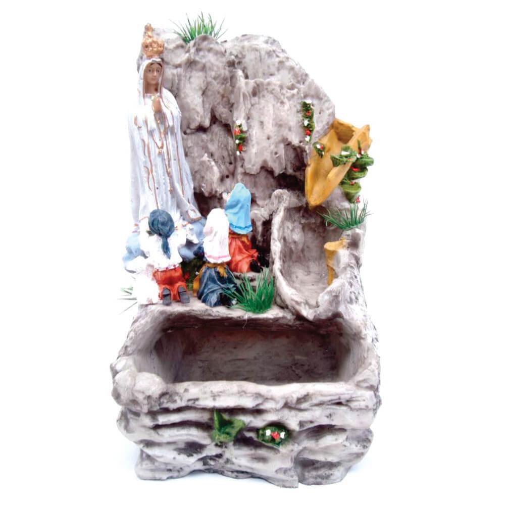 Fonte de água Nossa Senhora de Fátima Cascata.