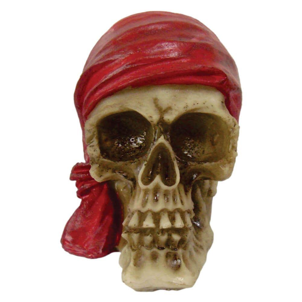 Crânio Caveira Pirata Black Bart Pequeno.