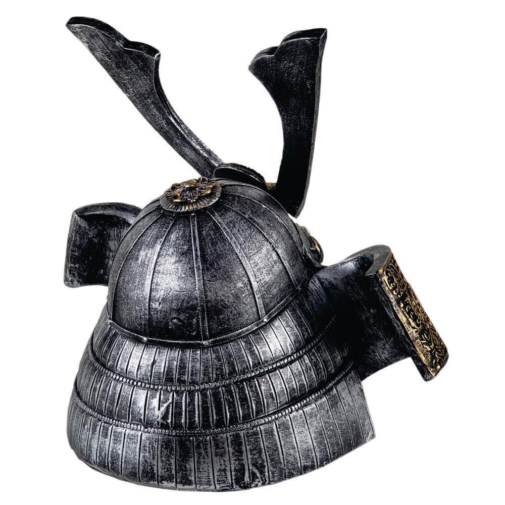 Crânio Caveira Capacete Samurai grande.