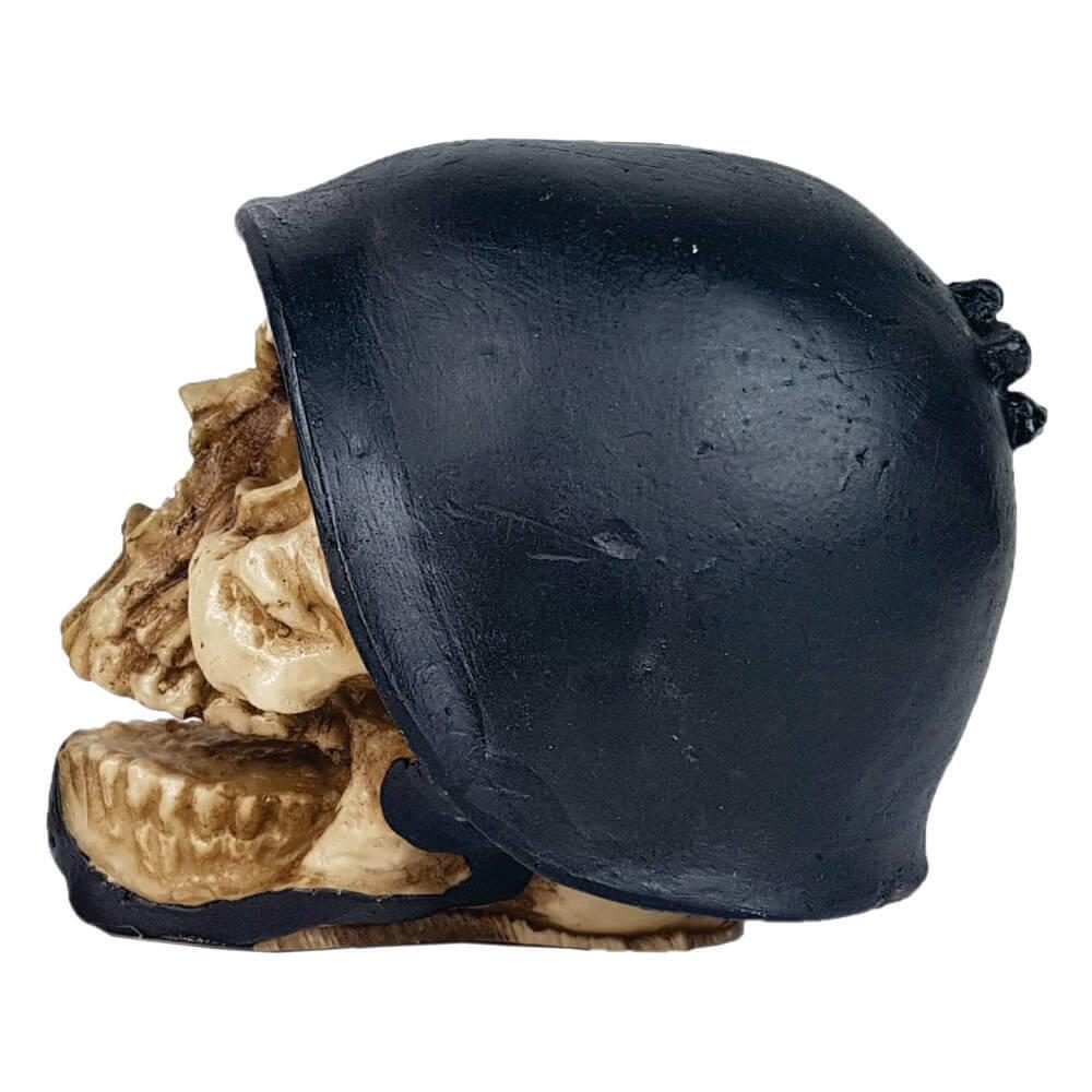 Crânio Caveira Soldado com capacete Exército.