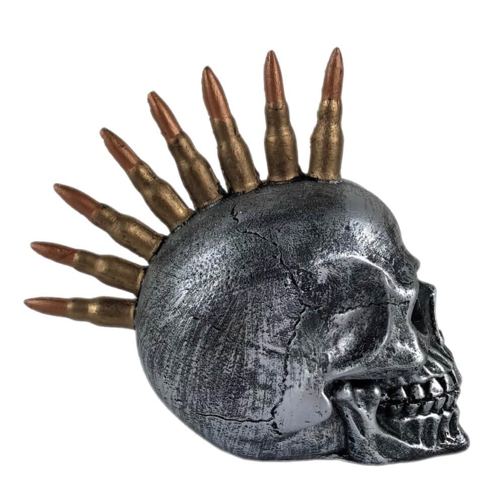 Crânio decorativo bala de Fuzil .