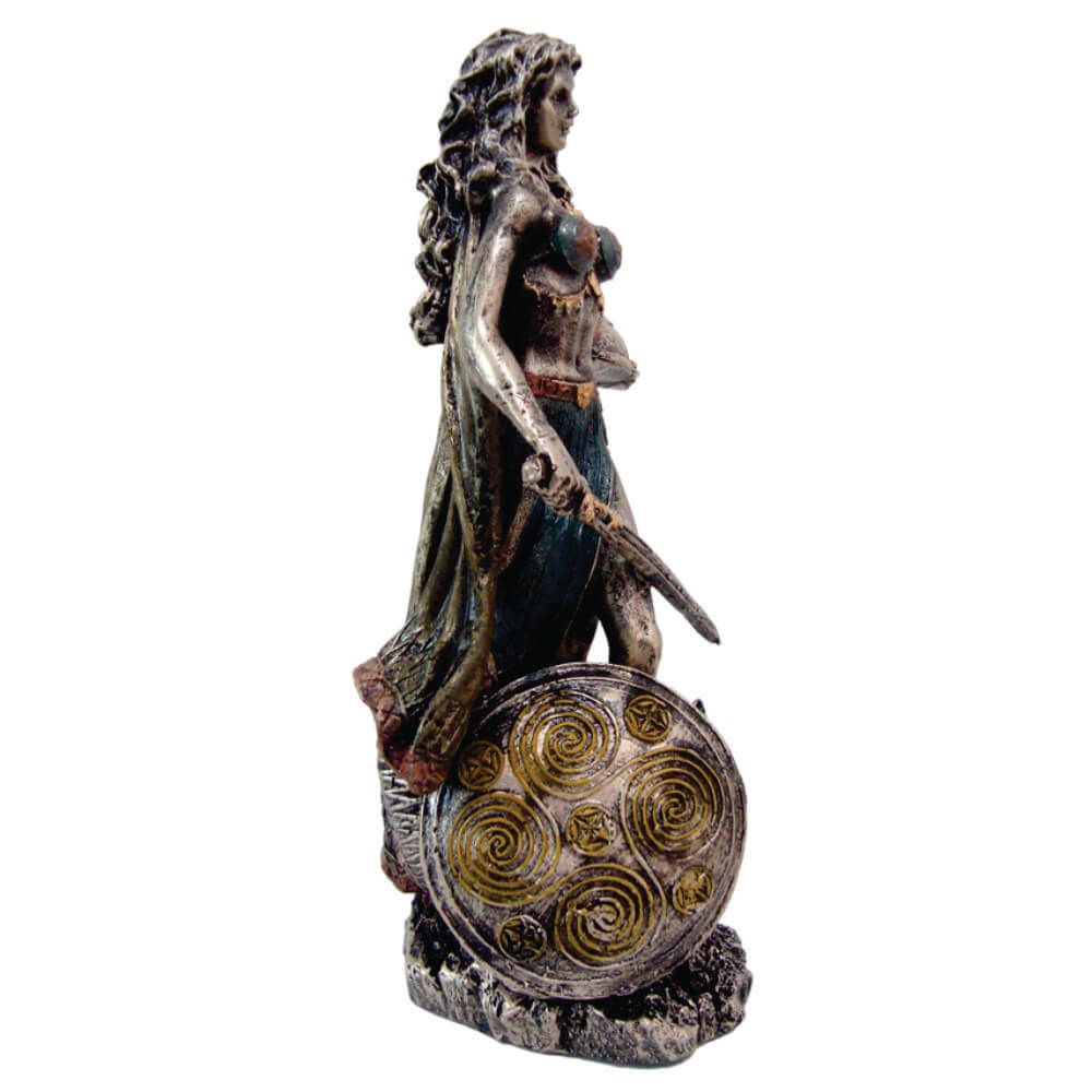 Escultura Freya deusa do amor mitologia nórdica estátua