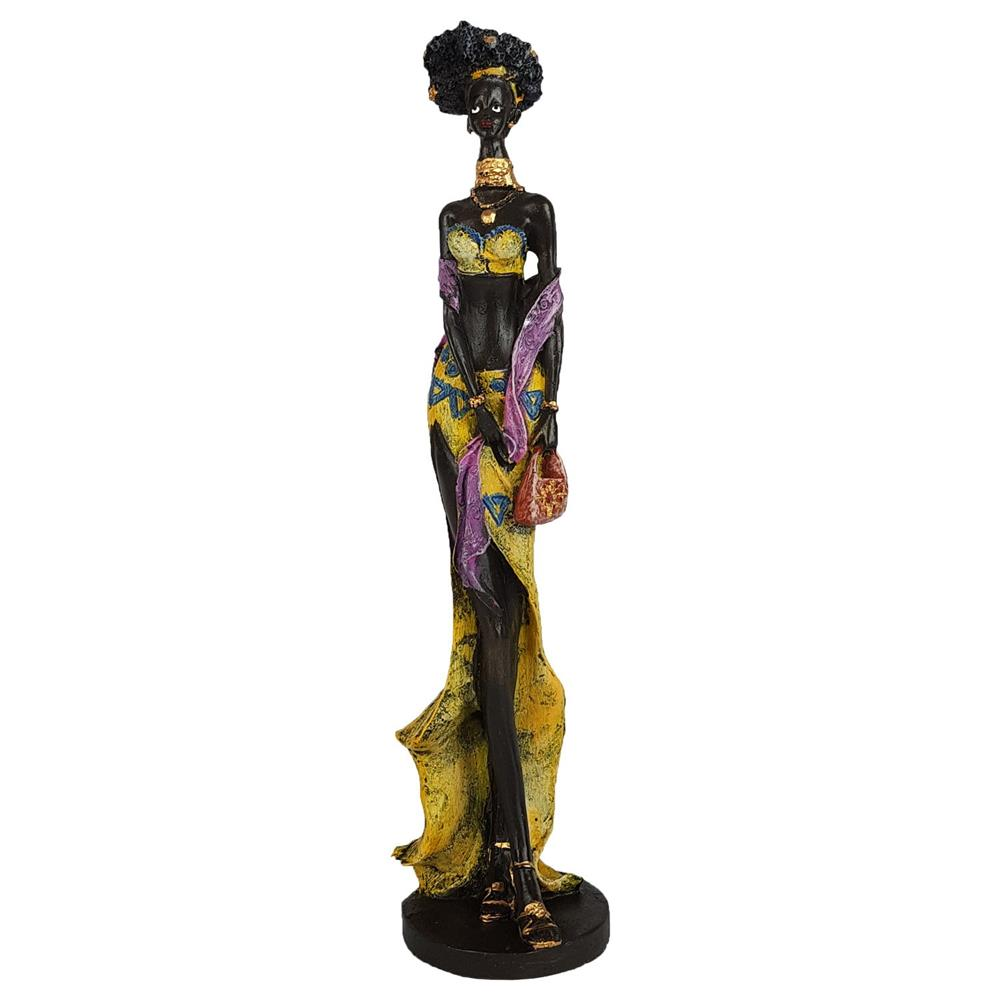 Estátua Africana Charme decoração Grande