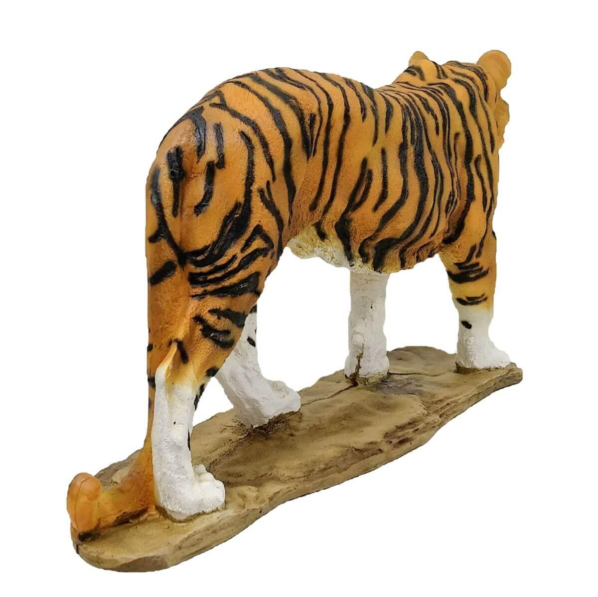 Estatua Tigre Siberiano Felino Tigre de Amur Prime Decorativo