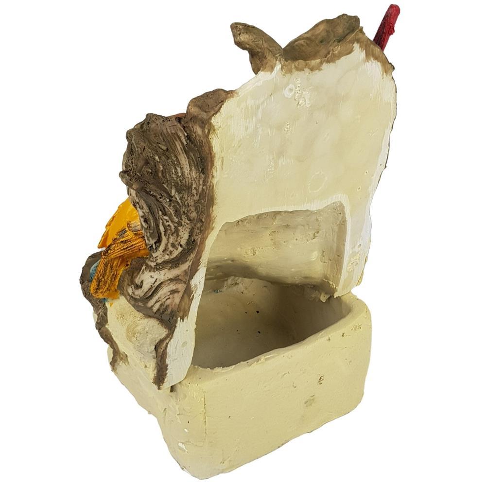 Fonte de água pássaros passarinhos 2 canários cascata