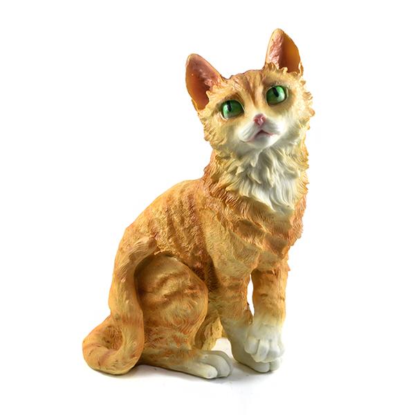 Gato decoração amarelo