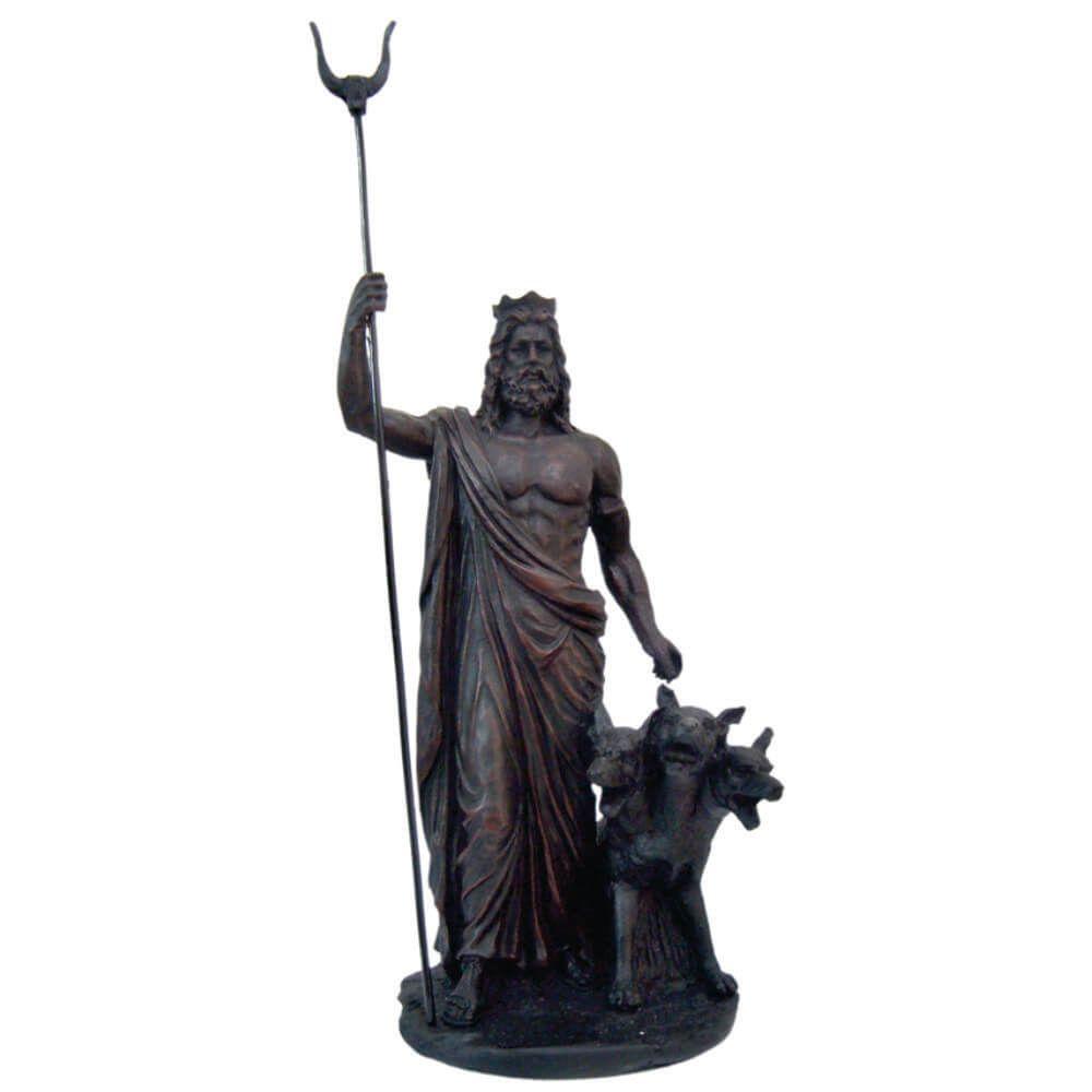 Hades Com Cerbero mitologia deus grego do submundo.