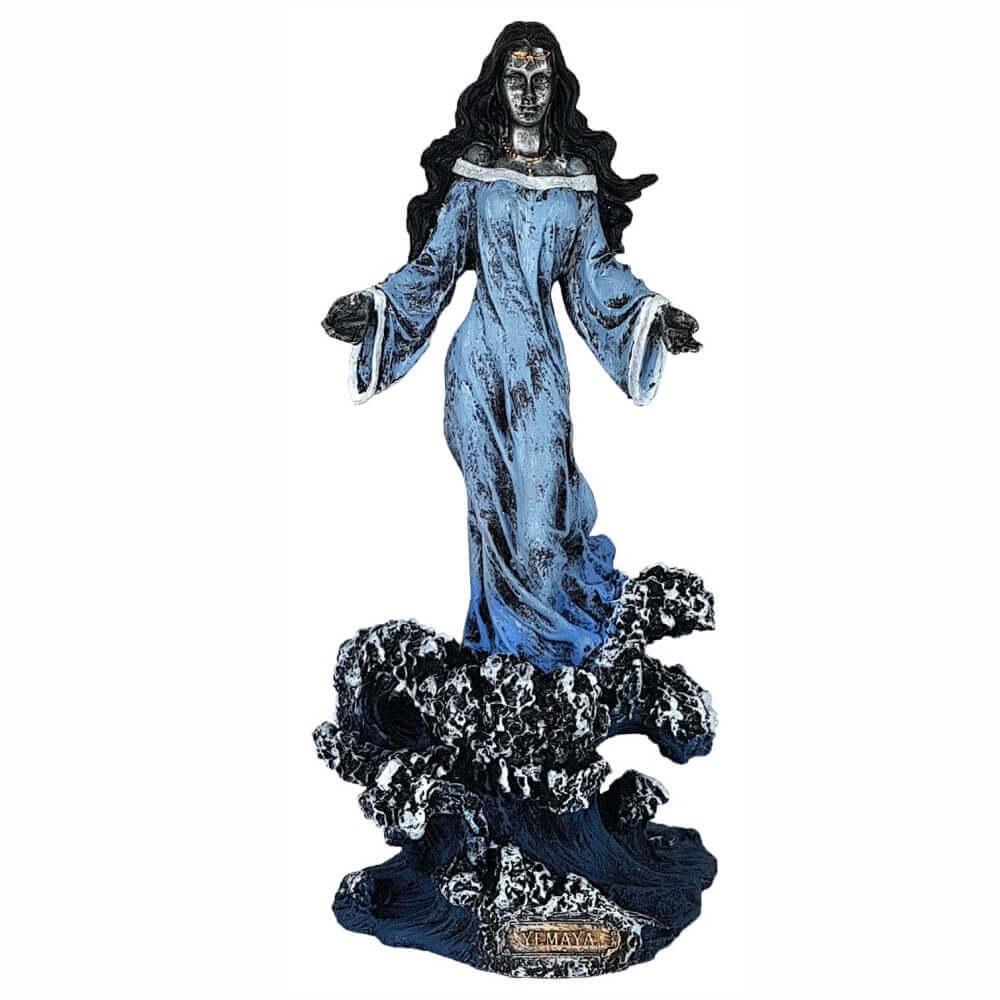Iemanjá rainha do mar estátua umbanda candomblé Grande.