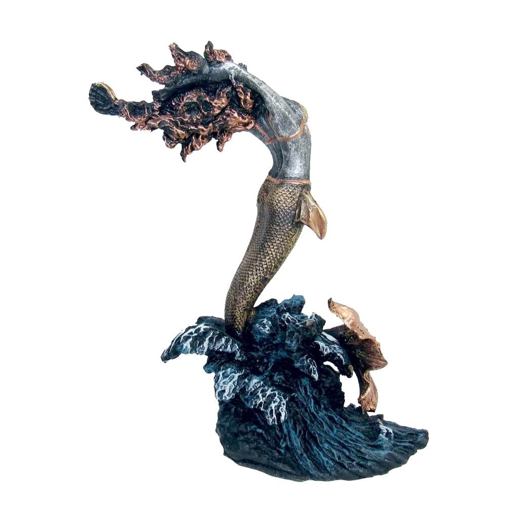 Iemanjá rainha do mar estátua umbanda candombléI