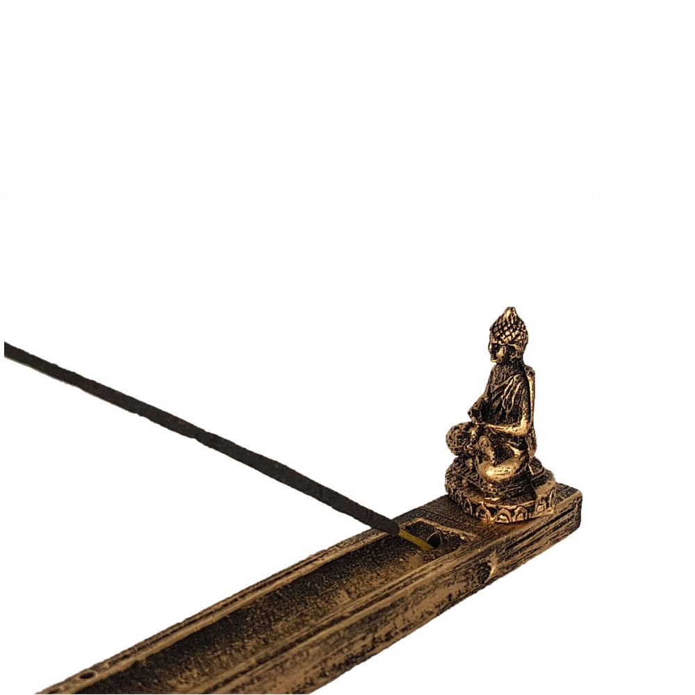 Incensário vasreta buda hindu porta incenso