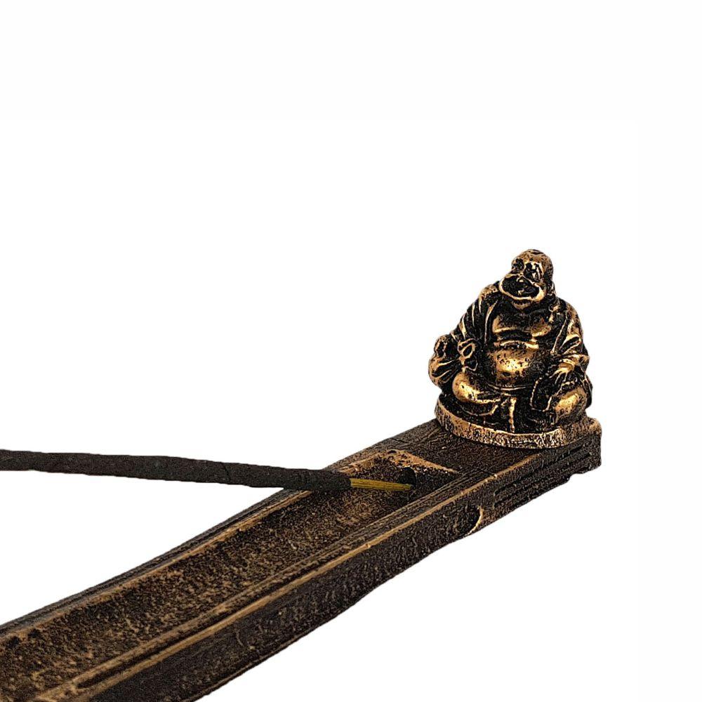 Incensário vareta Buda Chinês porta incenso