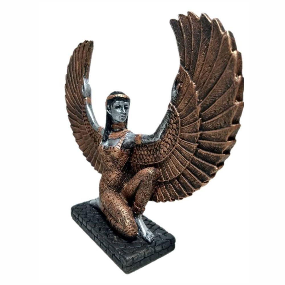 Ísis deusa do amor e da magia mãe do Egito mitologia egípcia