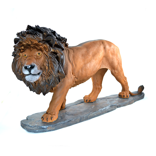 Leão Decorativo Estatueta Gigante