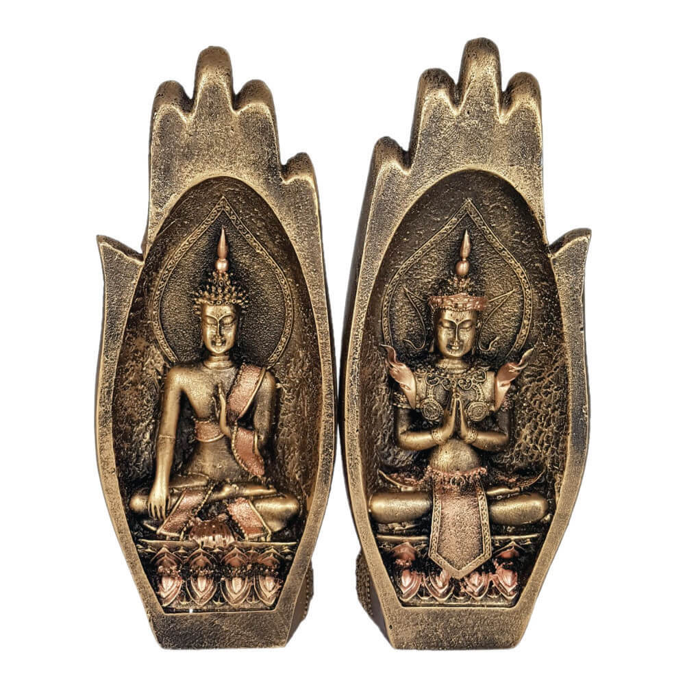 Buda Mão Hindu estátua decoração.
