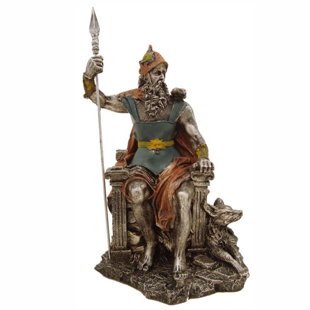 Odin mitologia nórdica Pai Thor Deus Da Sabedoria Guerra Decoração