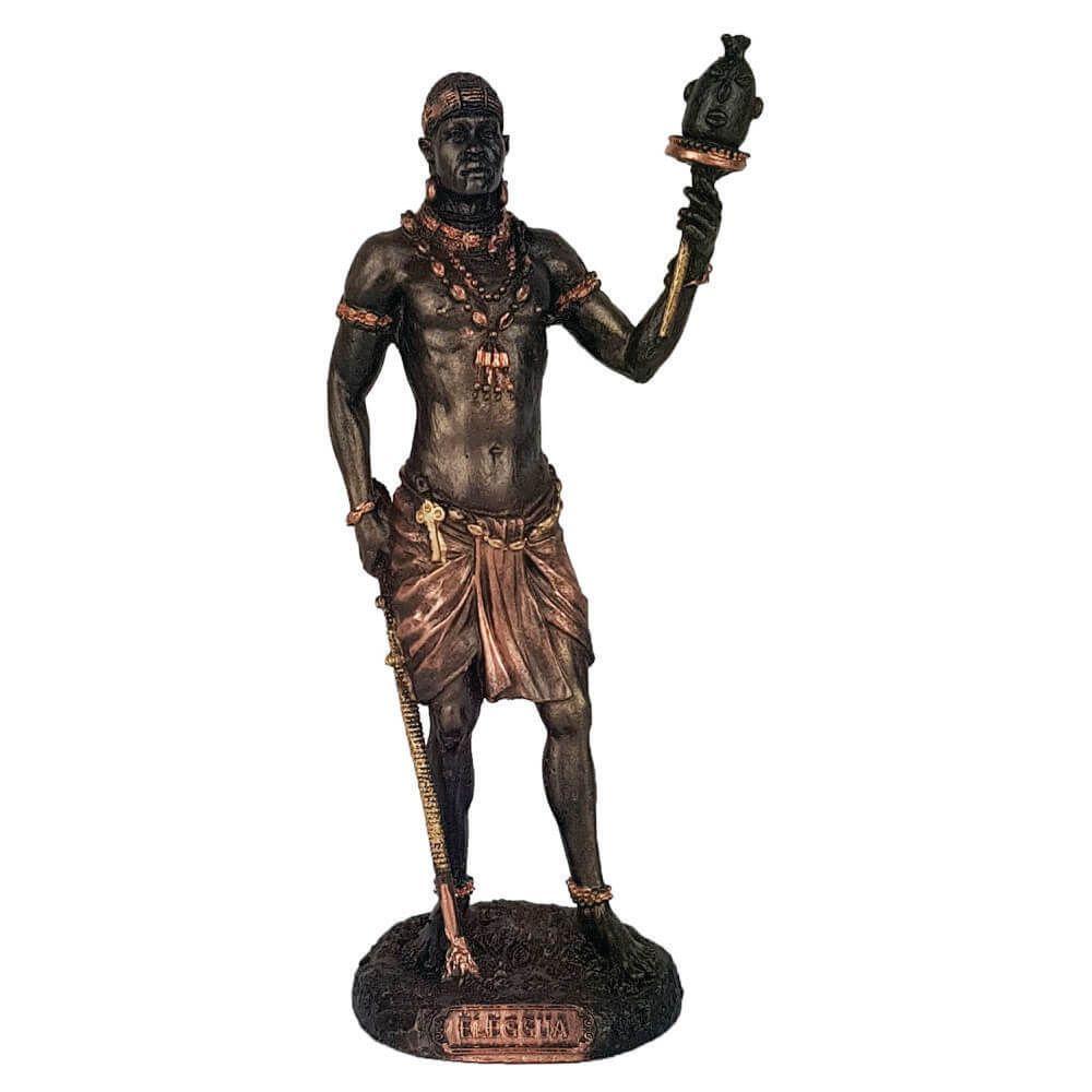 Orixá Eleguá estátua umbanda candomblé grande.