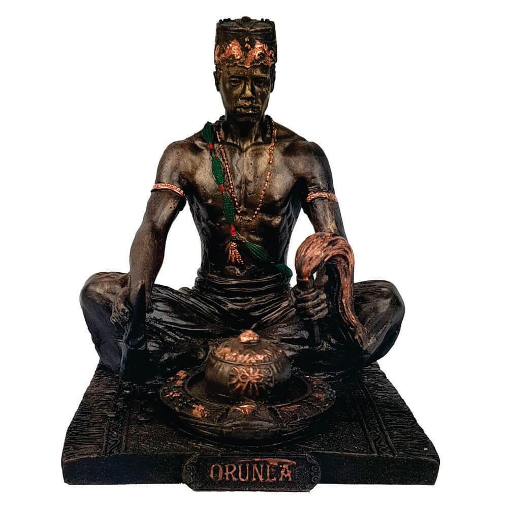 Orixá Orumilá Ifá Orunmila estátua umbanda candomblé.