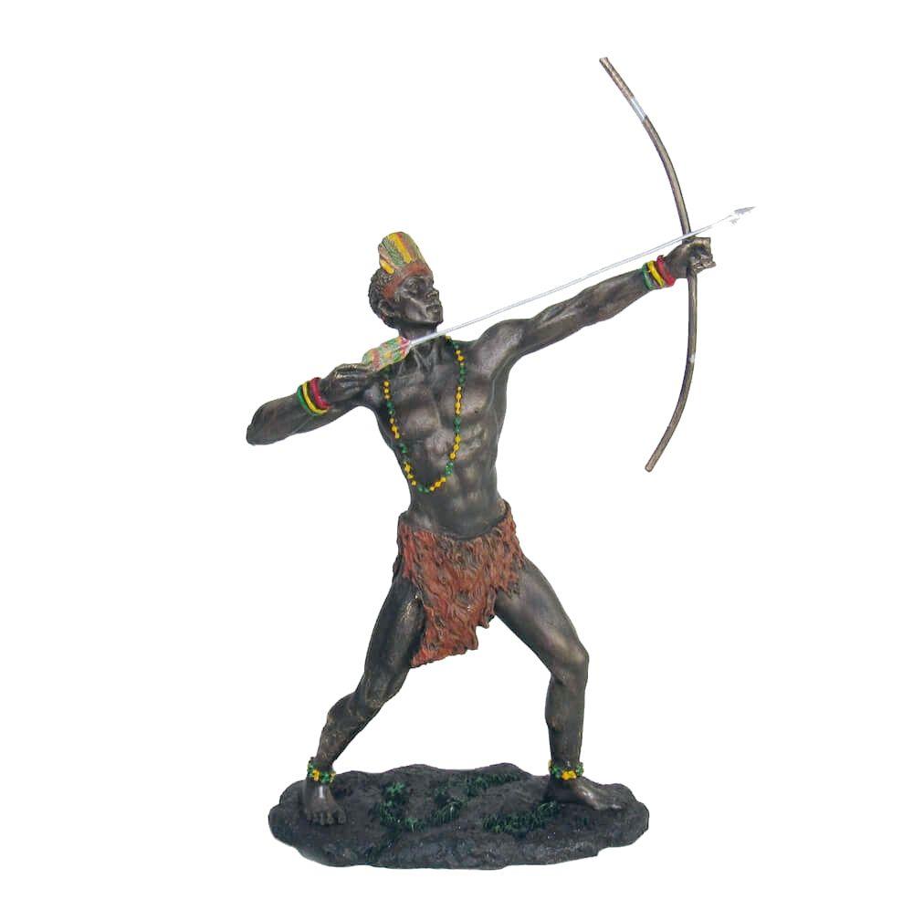 Orixá Oxóssi estátua umbanda candomblé