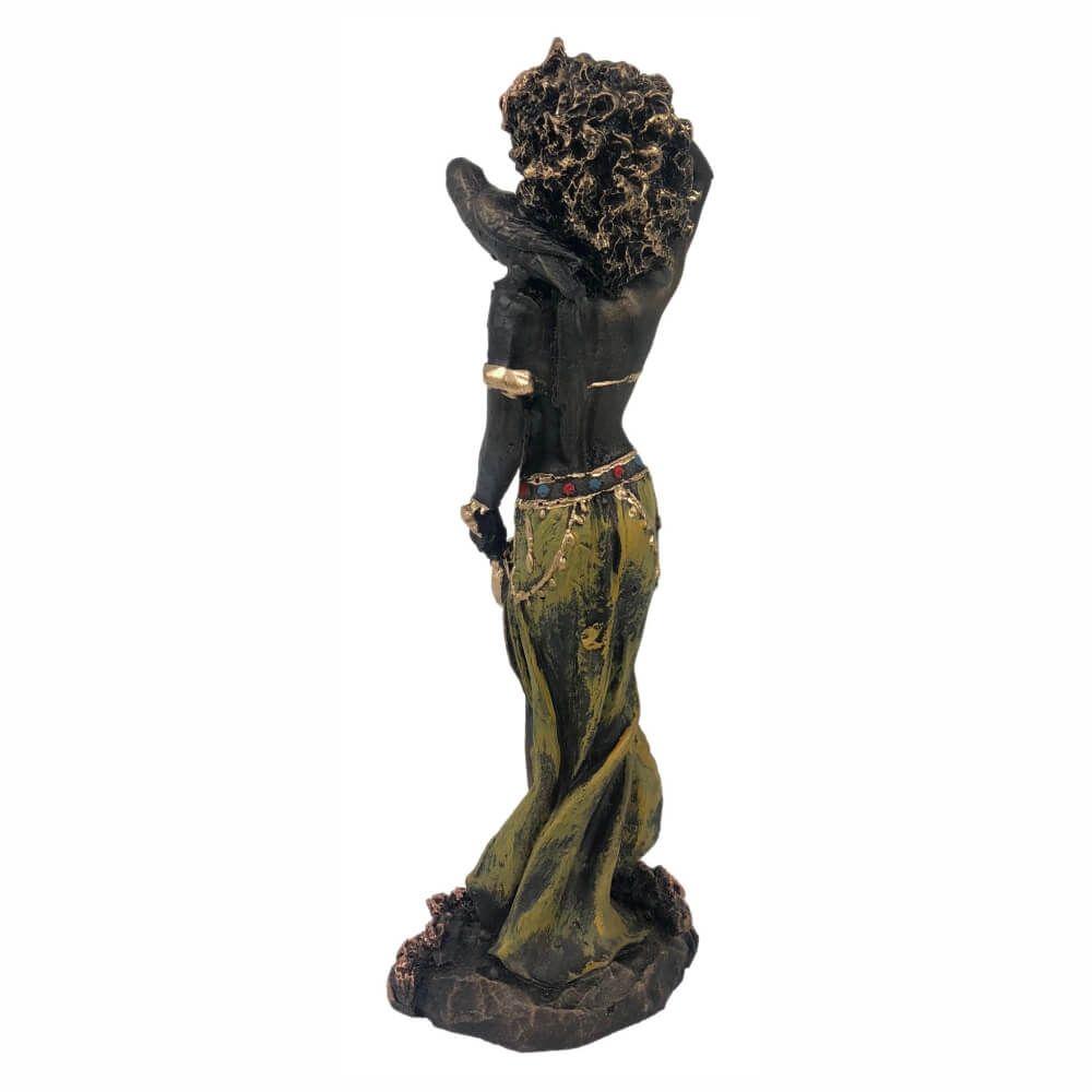 Orixá Oxum estátua umbanda candomblé estatueta.