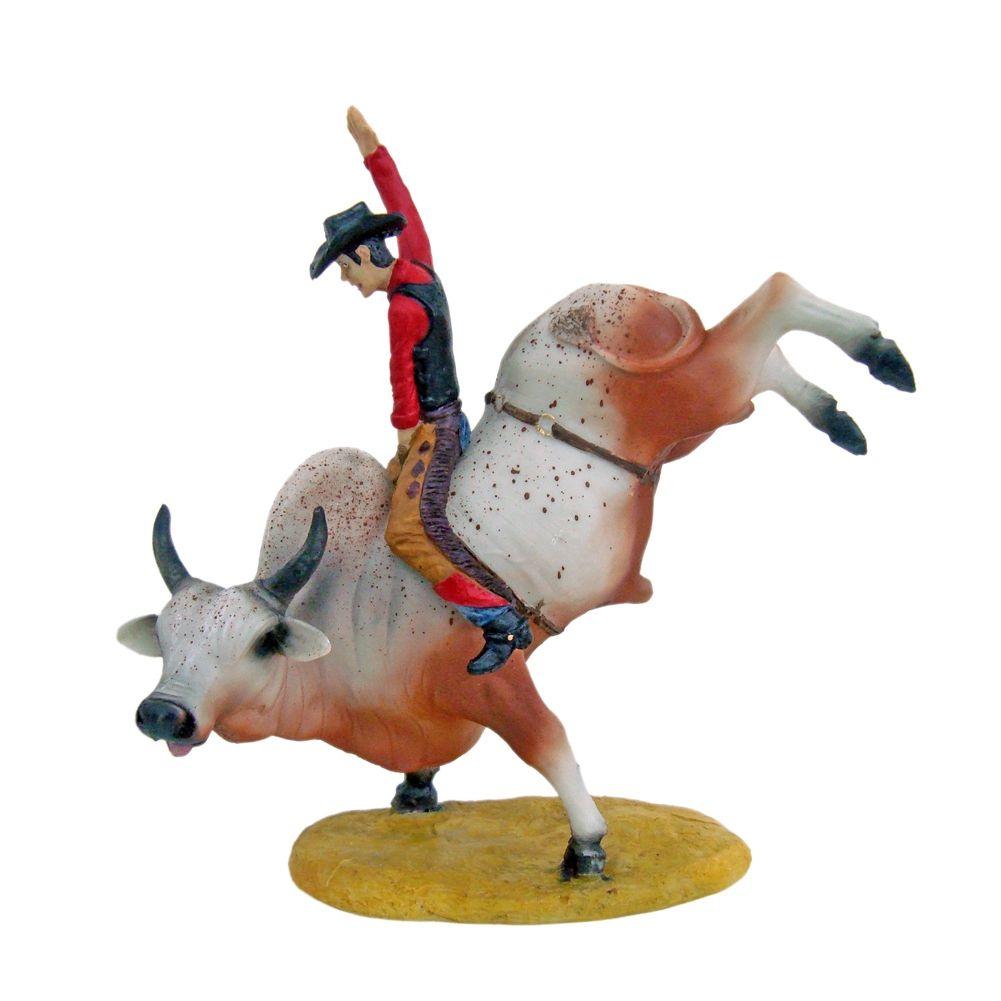 Peão Cowboy De Rodeio