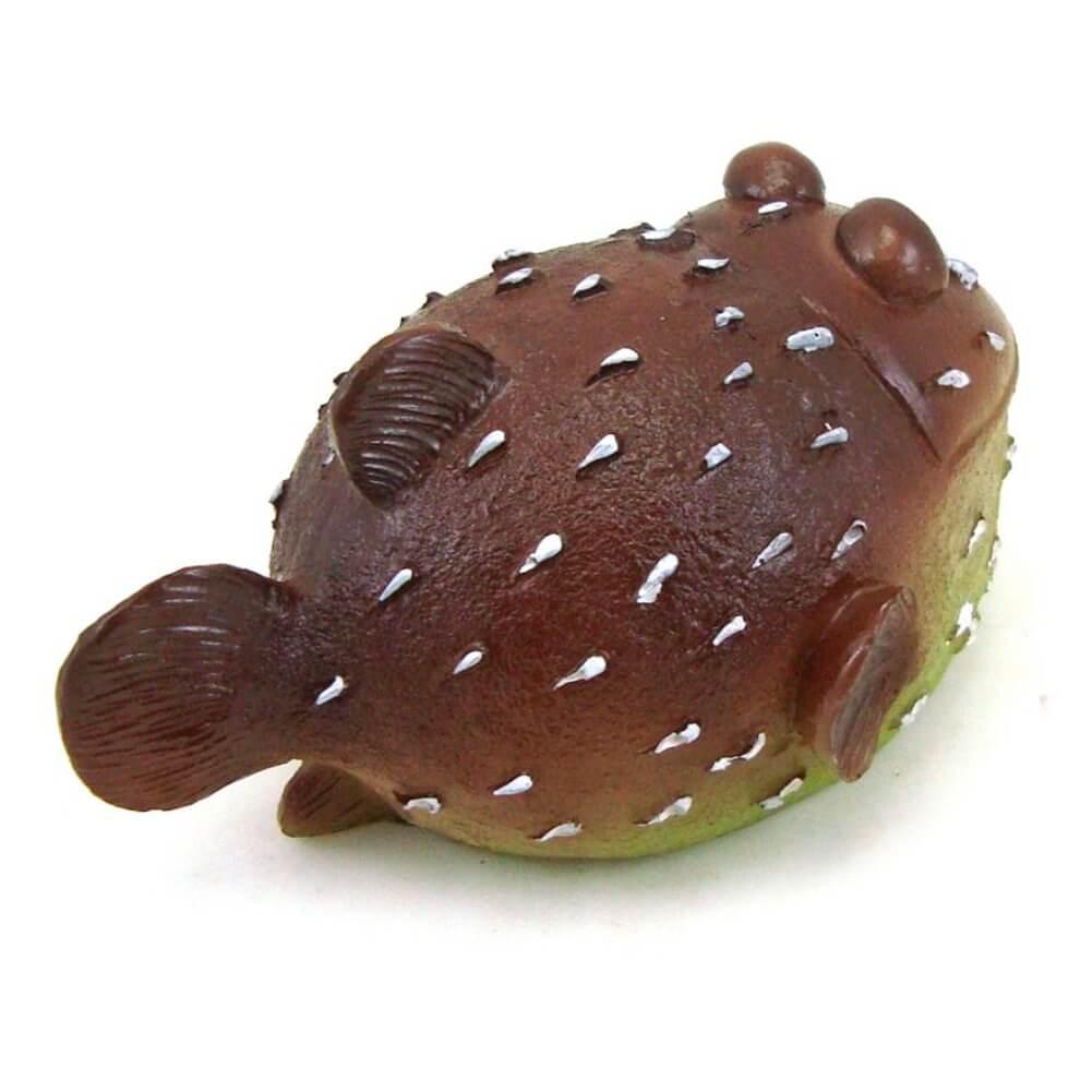 Peixe Baiacu decorativo para aquário.