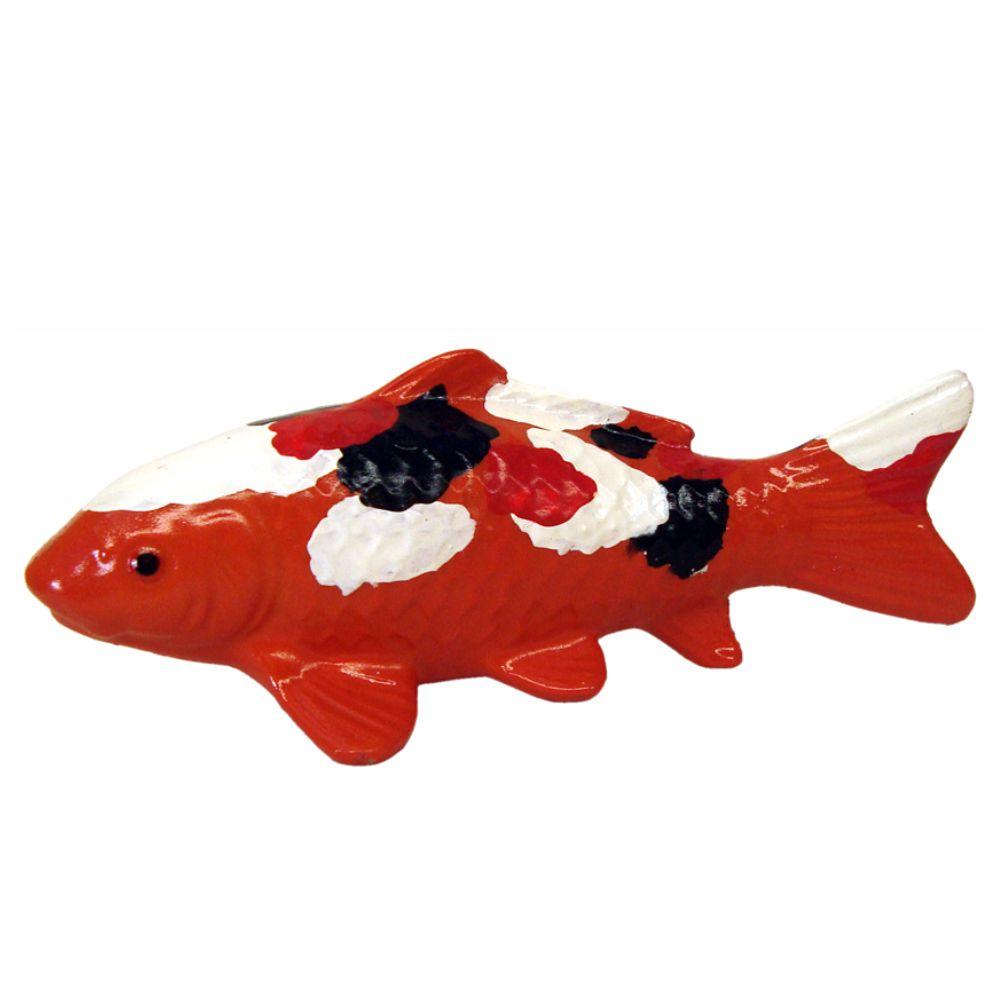 Peixe carpa enfeite decoração para aquário.