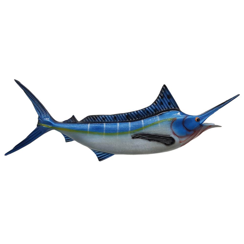 Peixe Espada Marlin Azul de parede decoração Médio.
