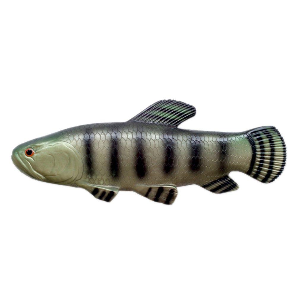 Peixe Traíra de parede em alto relevo para decoração.