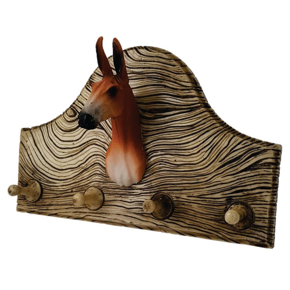 Porta chaves ou roupas cabeça de Cavalo grande decoração.