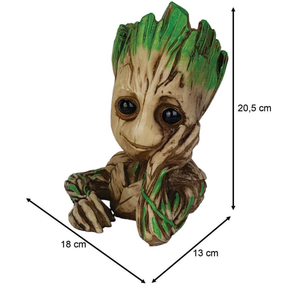Groot apaixonado Grande Cactos ou Suculentas ou  Porta objetos.