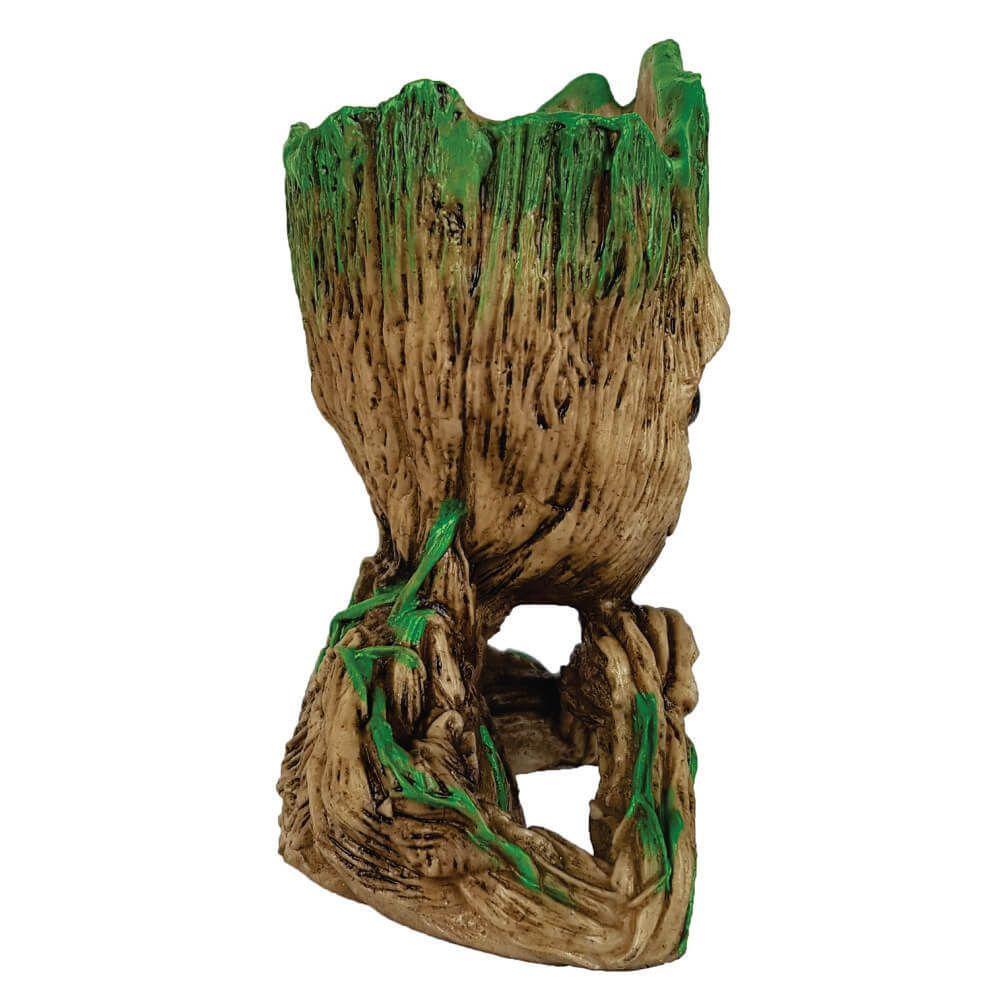 Groot feliz Cactos ou Suculentas e Porta objetos.
