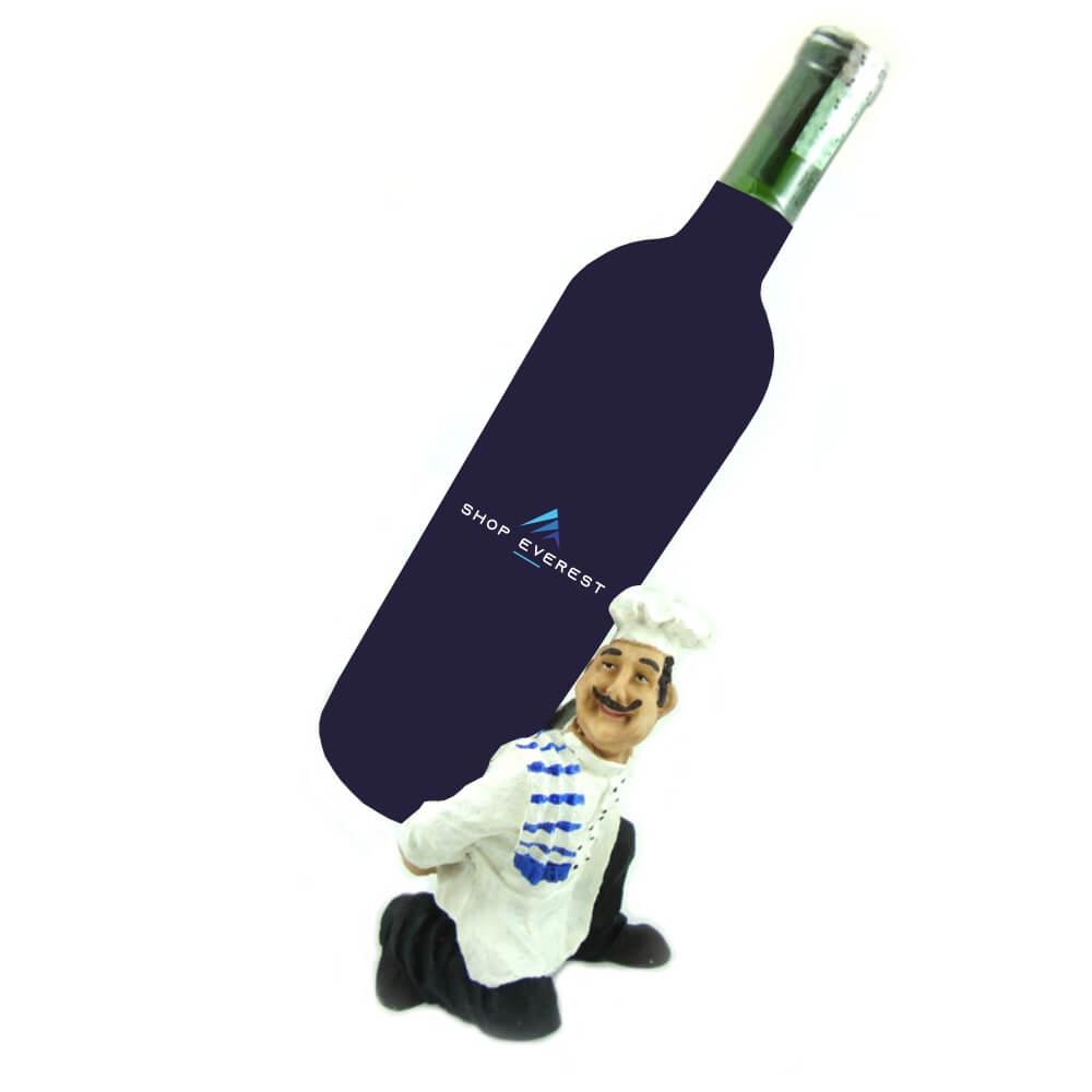 Porta vinho Cozinheiro Português decoração.