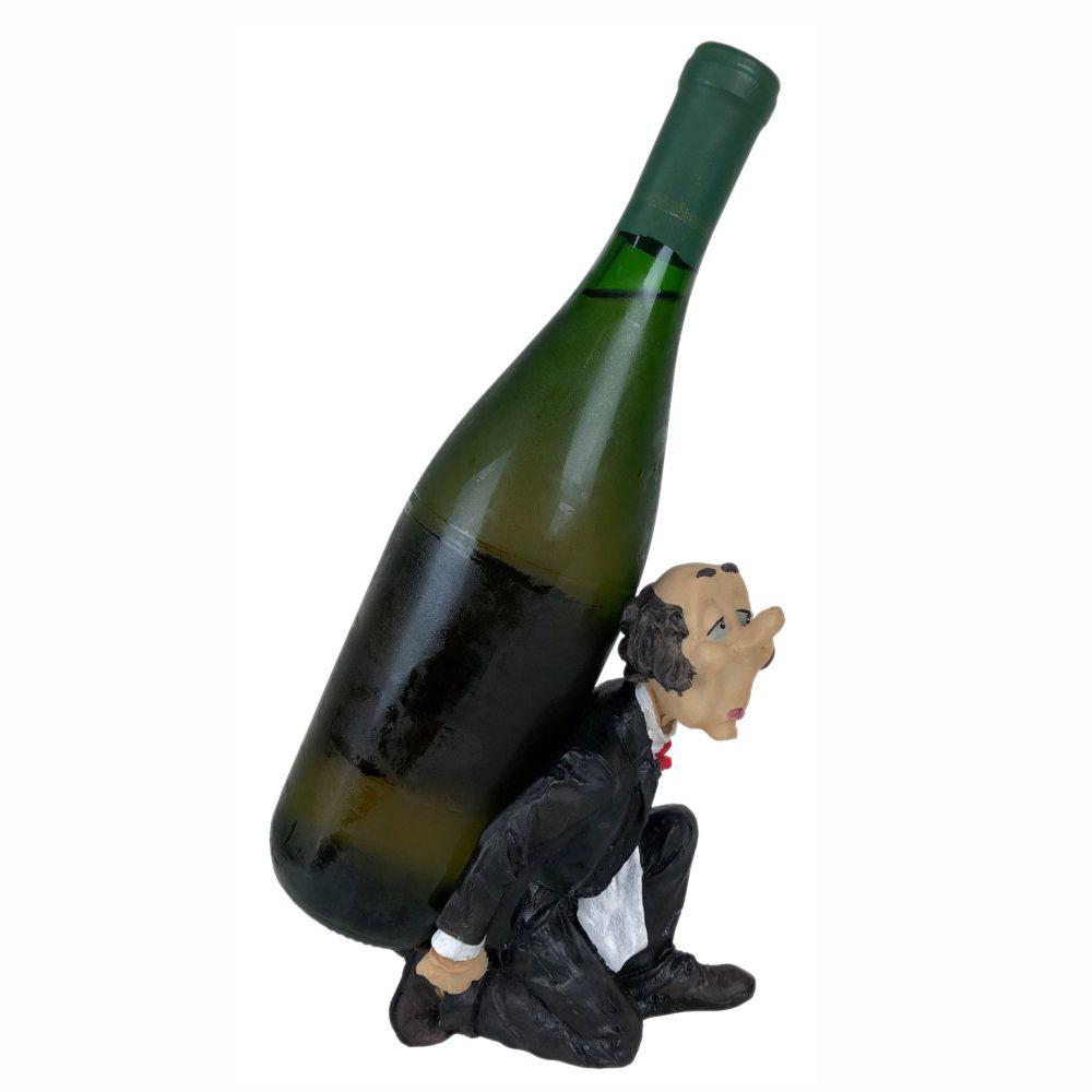 Porta vinho garrafa Mordomo decoração Médio.