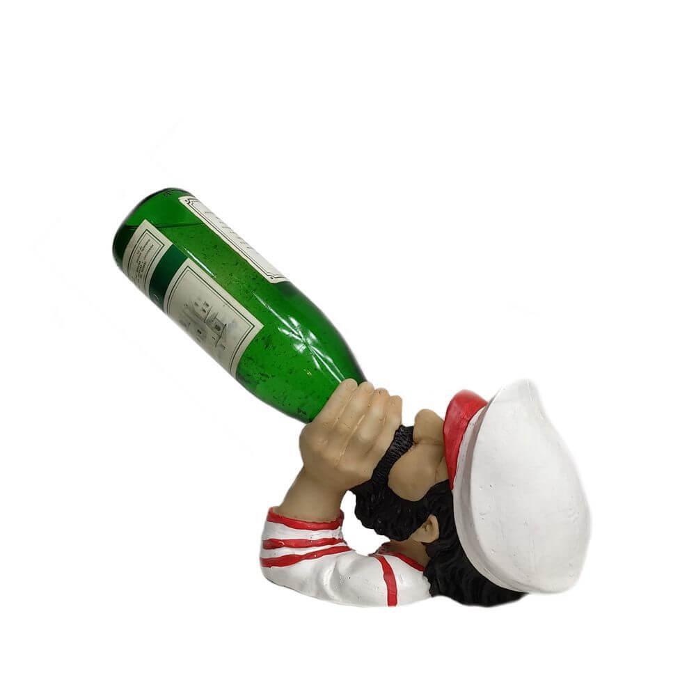 Porta vinho Marujo Marinheiro decoração.