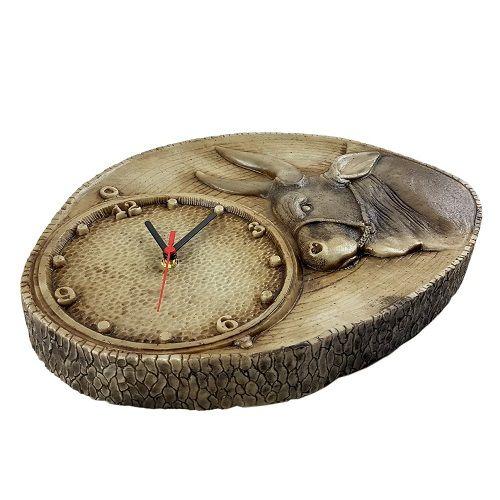 Relógio De Parede Cavalo No Tronco