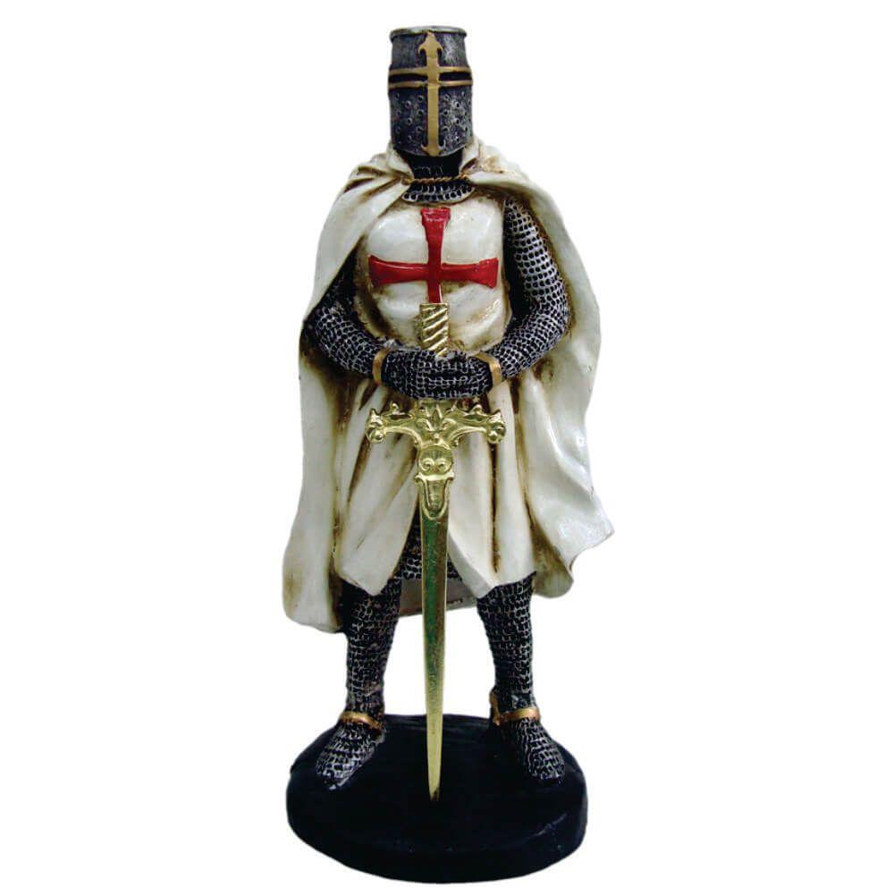 Soldado ordem dos Templários Guerreiro medieval.