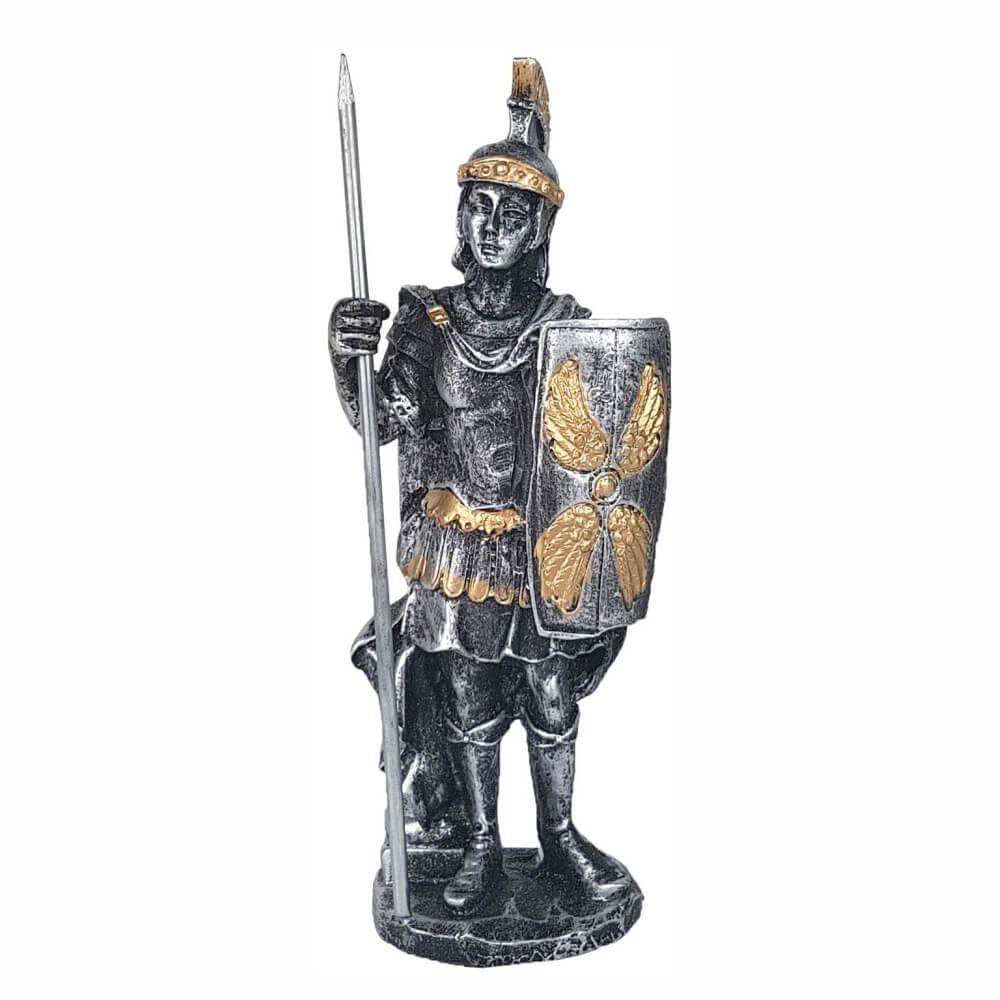 Soldado Romano com lança Guerreiro Medieval.