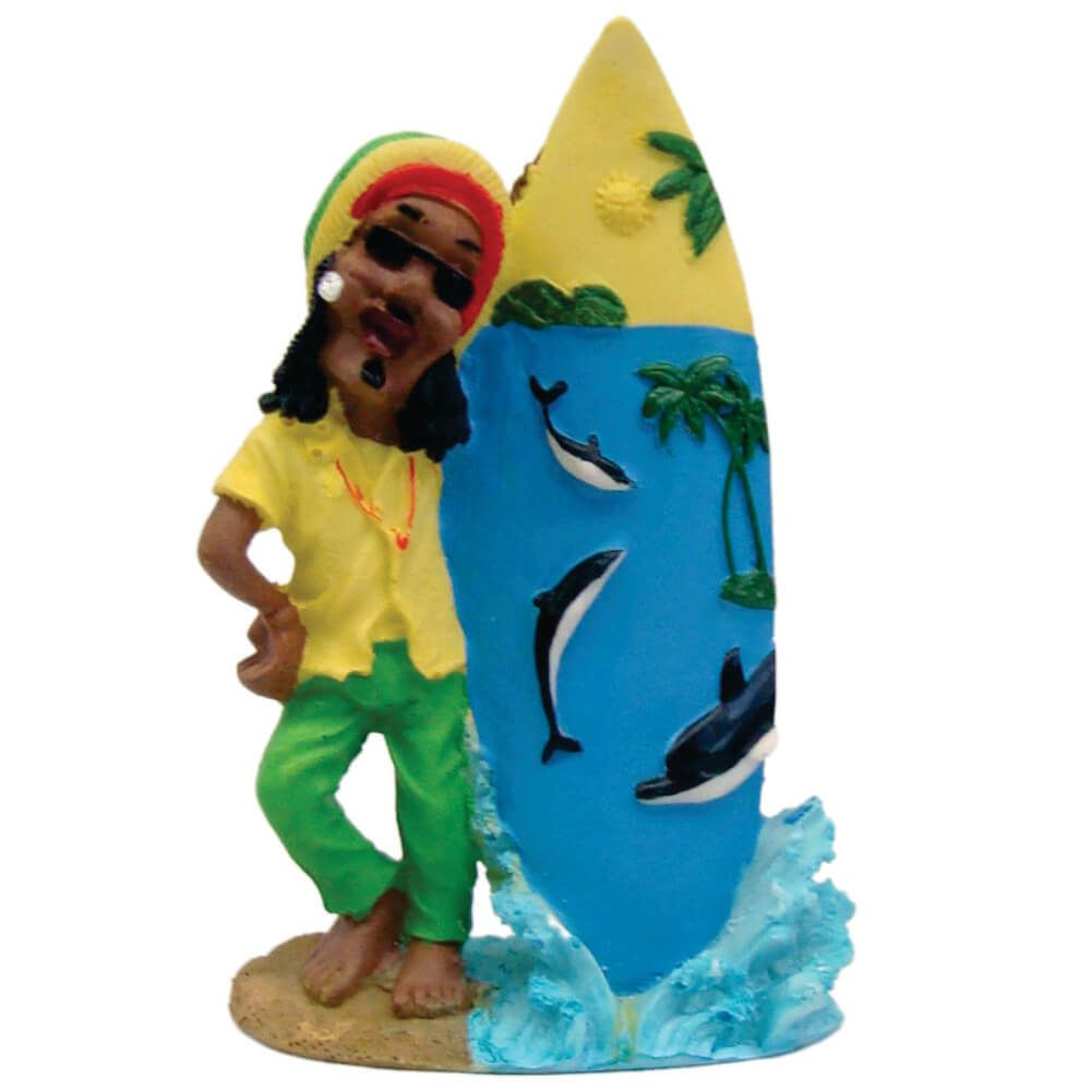 Surfista Bob Marley Golfinho