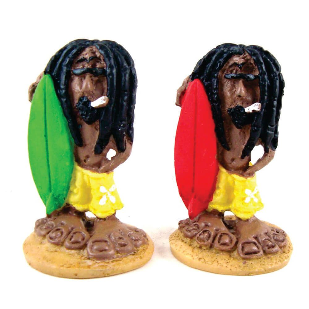 Surfista Bob Marley decorativo Mini