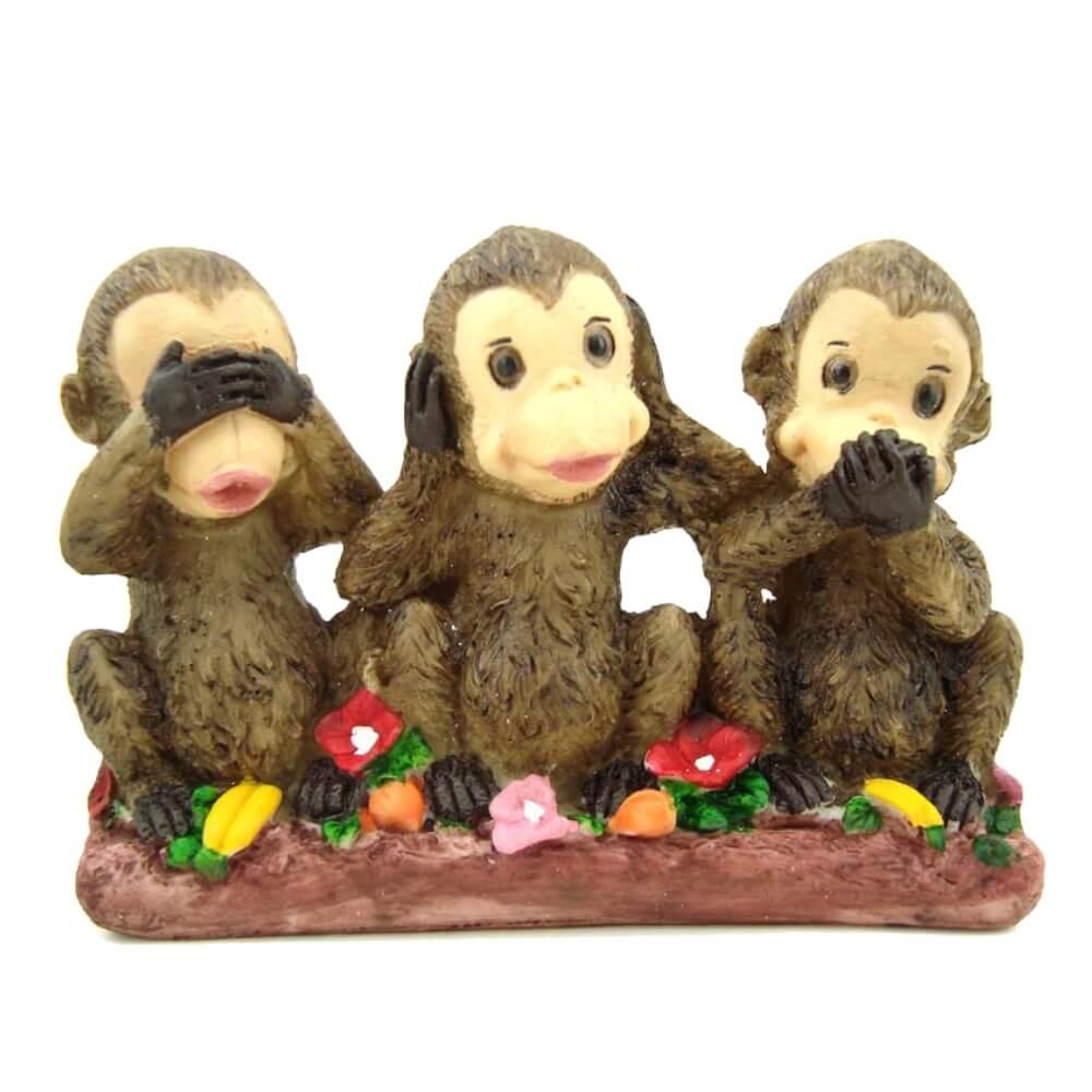 Trio De Macaco Grande