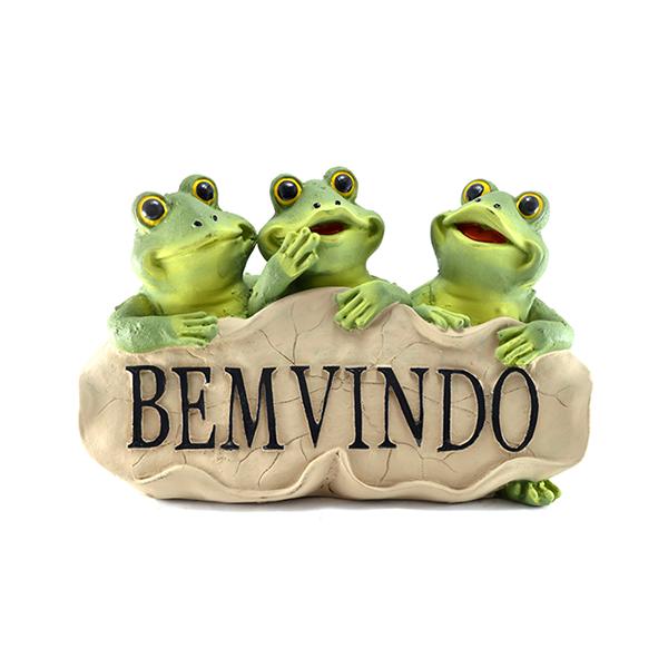 Trio Sapos Bem Vindos
